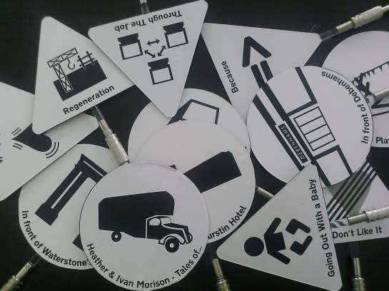 Some of the tags used for the mapping