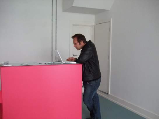 Gavin in the pink